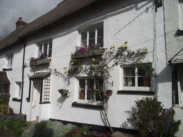 500 year-old character cottage in rural village - Winkleigh - Huis