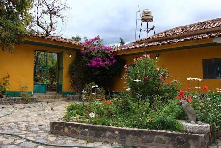 House to enjoy nature in a town close to Huaraz