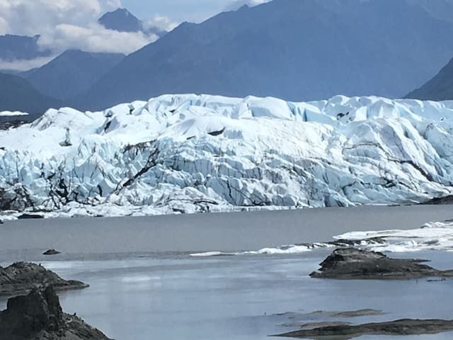 Come enjoy the Glacier!!