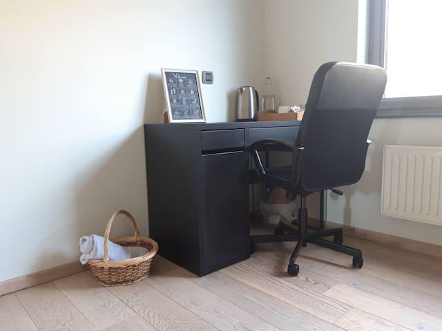 Desk for working inside the room