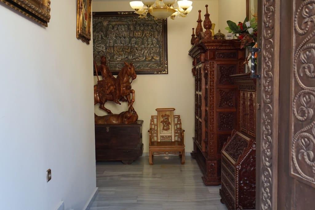 Hall de entrada principal