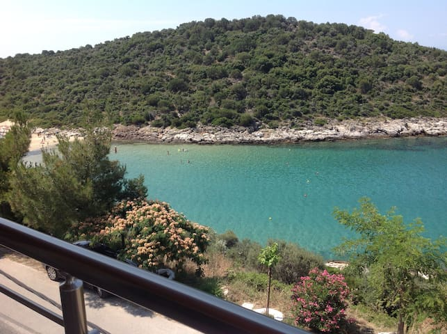 Charming 2 bedroom apartment by beach - Skala Marion, Thassos - Appartement