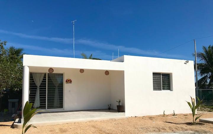 Bella casa completa en Chelem