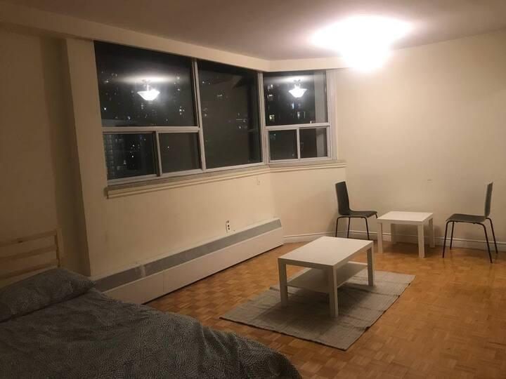 Beautiful studio apartment in Yonge Bloor for rent