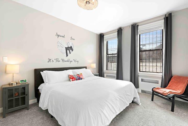 ❤️ Renovated 2bdr Brooklyn Apt, 31 min. 42nd street