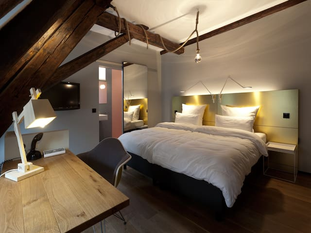 Attic Loft -  Stay in a historic landmark building est. 1540