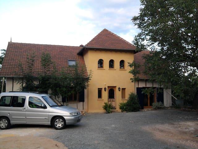 Maison en Paille (strawbale house) Périgord
