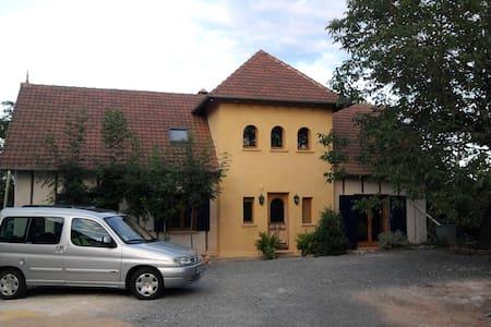 Maison en Paille (strawbale house) Périgord - Eyzerac - House