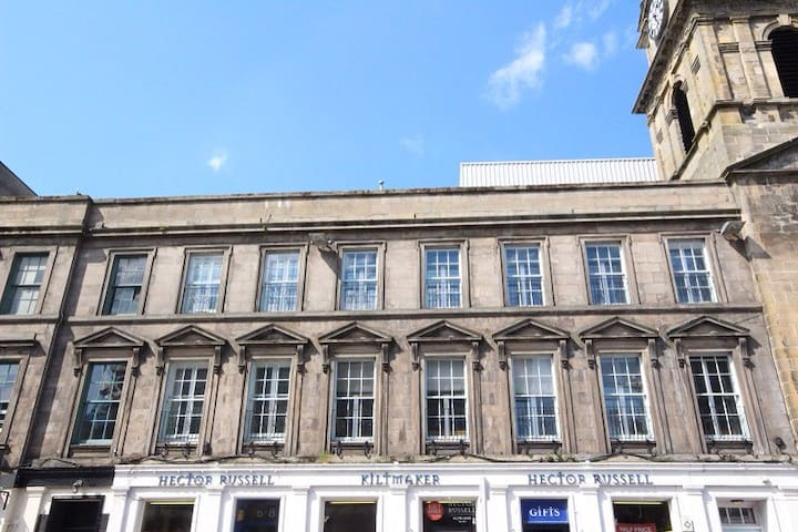 Bright spacious city centre flat - Inverness - Apartemen