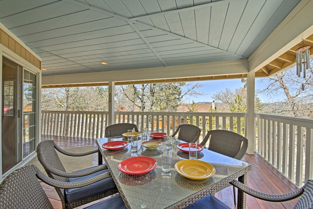 Located in the heart of Big Bear Lake, this home offers year round fun.