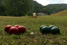 Bocce Ball on mountain time