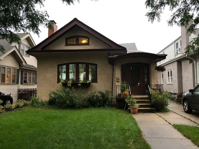 Eclectic Artist's Bungalow in Shorewood