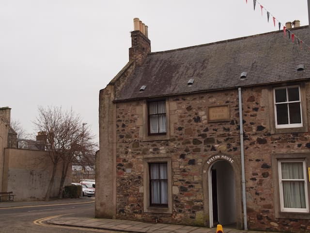 Historic Town House Scottish Borders Sleeps 2-4