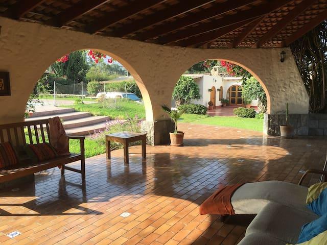 Residencia Cieneguilla – 8 hab/16 pp. OK mascotas