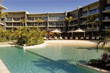 Beach house style apartment on the Gold Coast.