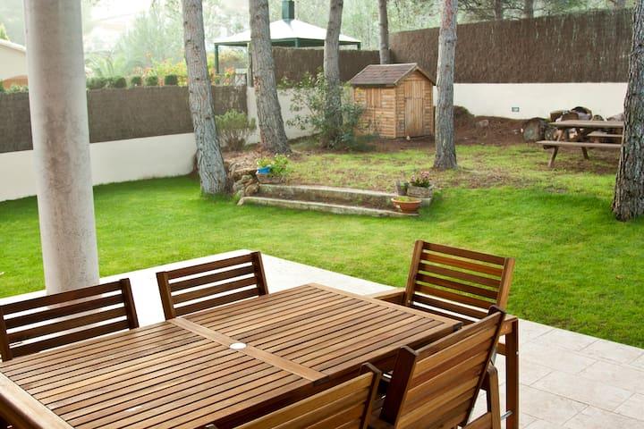 Casa en plena naturaleza, cerca playa y deValencia - Gilet - Ev