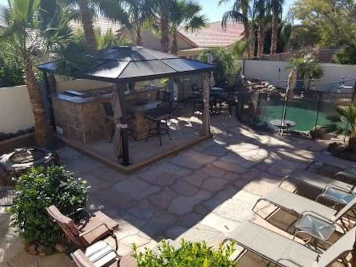 Gorgeous Resort Style Home! FREE Heated Pool! SPA!