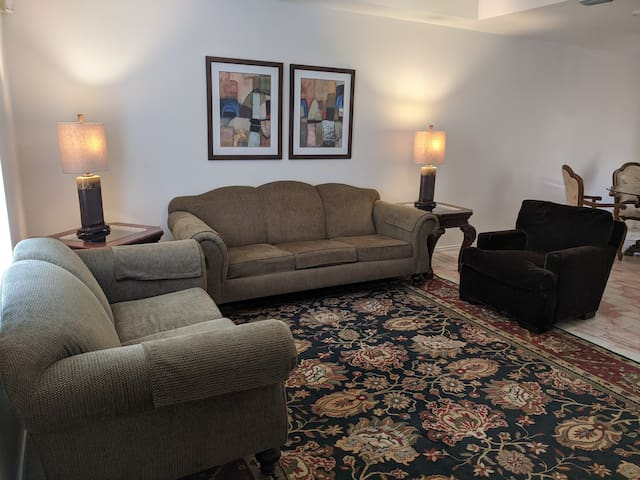 No cleaning fee!  Spacious One Bedroom One Bath!