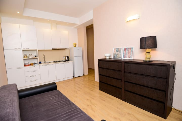Modern apartment in the heart of Tbilisi