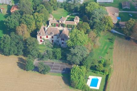 Chateau Lot et Garonne avec piscine et tennis - Grateloup-Saint-Gayrand