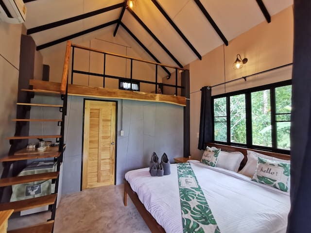 Bungalow in the garden suite for 3 people