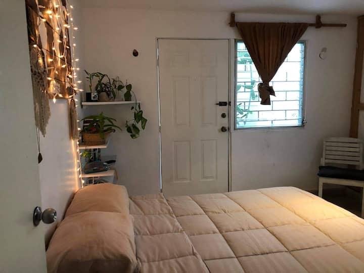 Un lugar para descansar, como en casa!