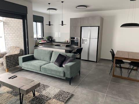 amazing new apartment in the city center /Raanana