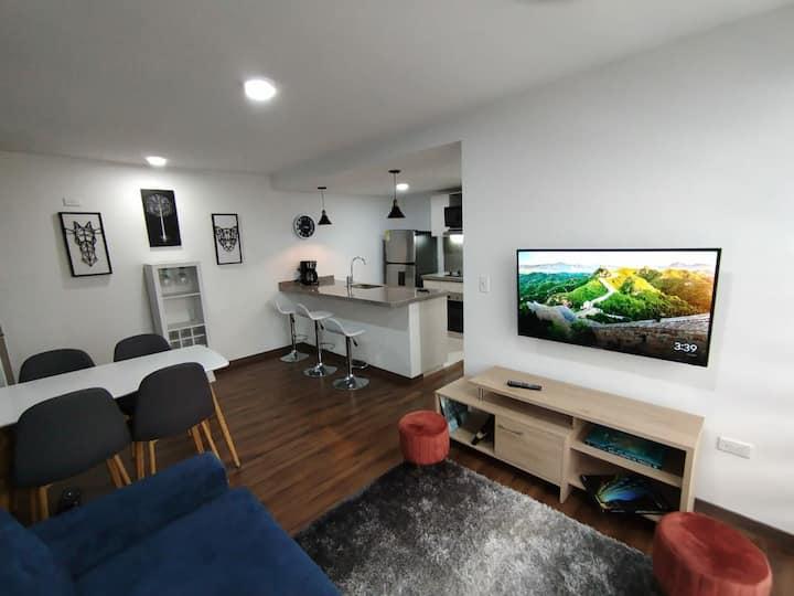 Apartamento muy comodo para la mejor experiencia.