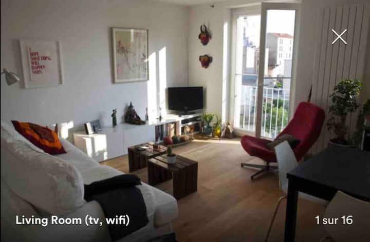 Appartement Canal de l'Ourcq - Pantin CND Moulins