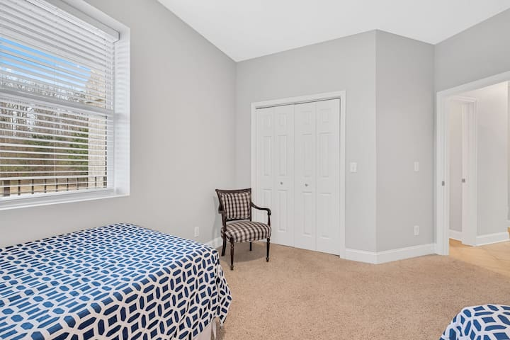 Spacious closets in each bedroom.