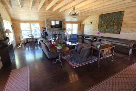 Country Estate on 200 acres. - Trumansburg - House