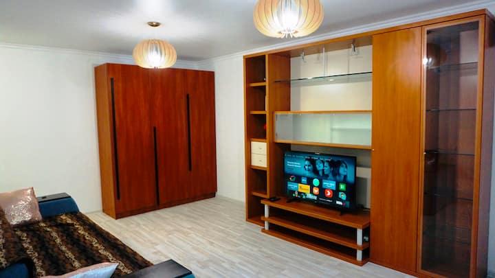 Уютная квартира-студия недалеко от моря