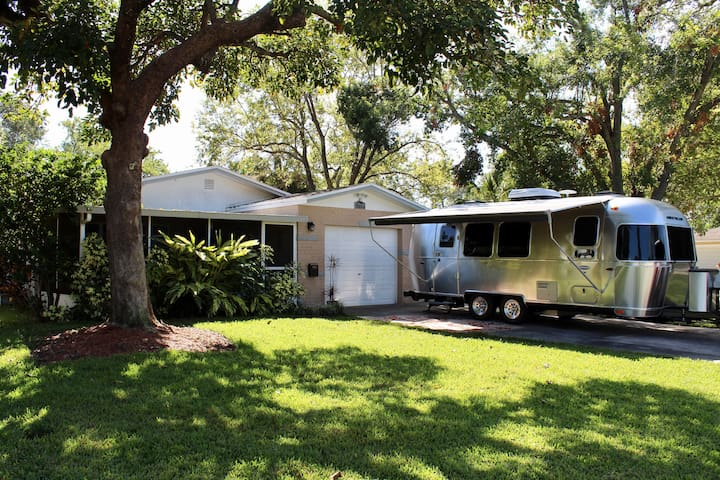 Elegant Airstream for Delivery in Tampa Bay area