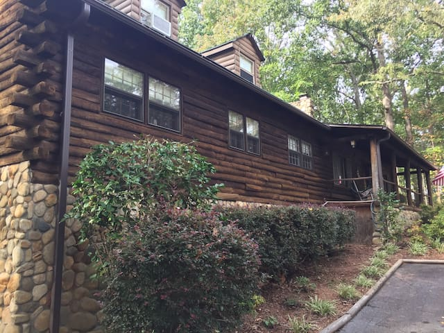 Rooms at Our Log Cabin Home