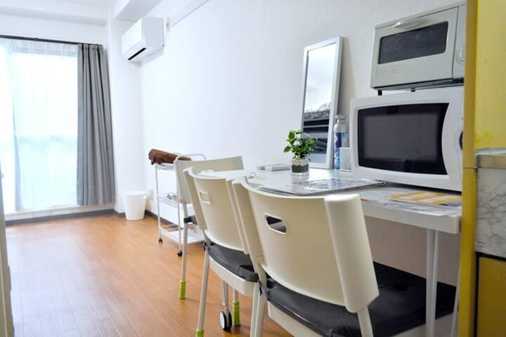Gran-Build Osaka , Room 2-B - Suminoe-ku, Ōsaka-shi - Lägenhet