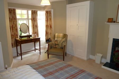 The Old Vicarage B&B - Double Bedroom - Bed & Breakfast