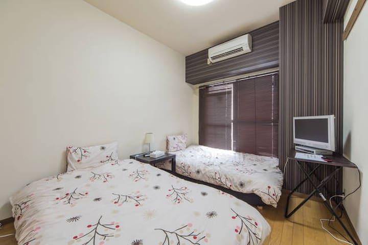 Umeda lovely comfy private apt 37 - 北区西天満 - Wohnung