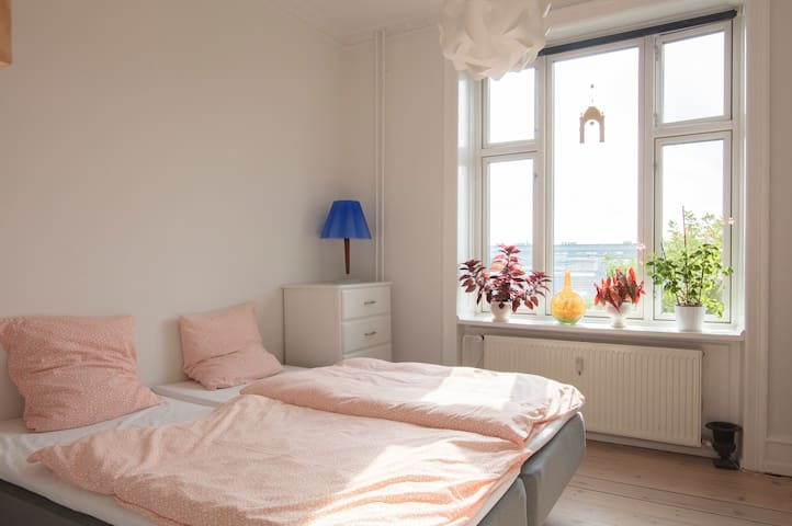 Lyst værelse i hjertet af København