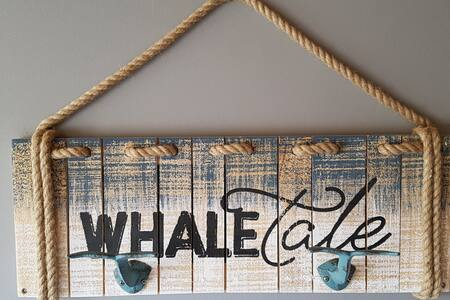 Whale Tale Suite in Blaketown/Dildo. Sleeps 8