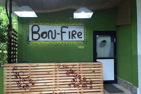 Bonfire resort # Nature stay # Campfire # Peaceful