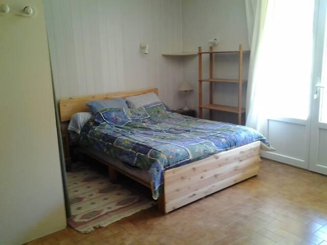 Chambre - séjour