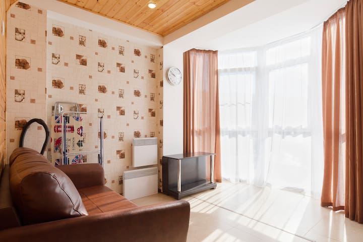 Студия с видом на море (Wi-Fi, PS3) - Сочи - Apartmen