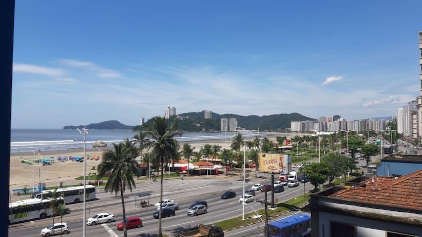 APTO STUDIO Santos-São Vicente Vista ao mar