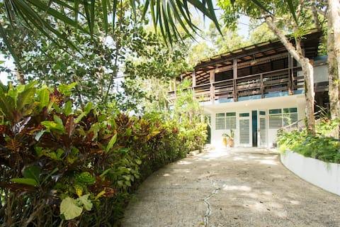 Casa Merecida Retreat in El Yunque  (main house)