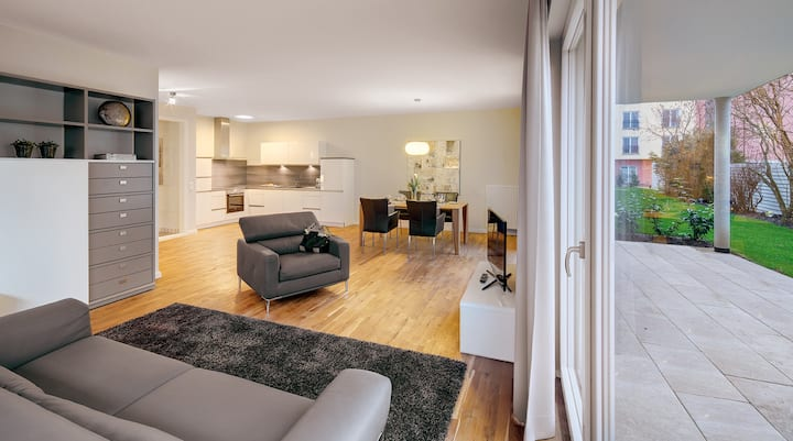 Toskana Wohnung mit Terrasse