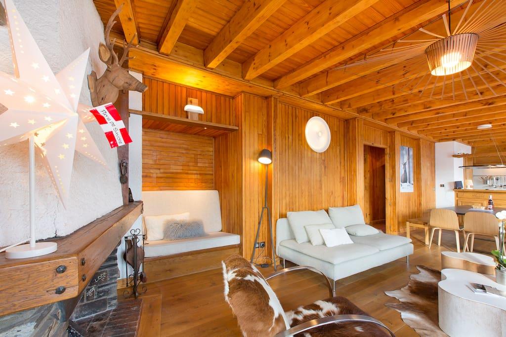 Luxueux chalet 8 chambres 20 lits maisons louer le - Chambre d hote le grand bornand ...