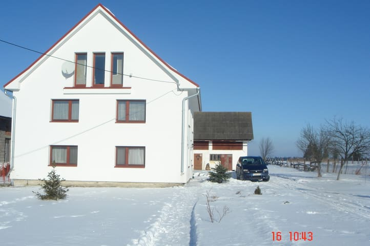 clean comfy room in family house Orava region - Suchá Hora - Hus