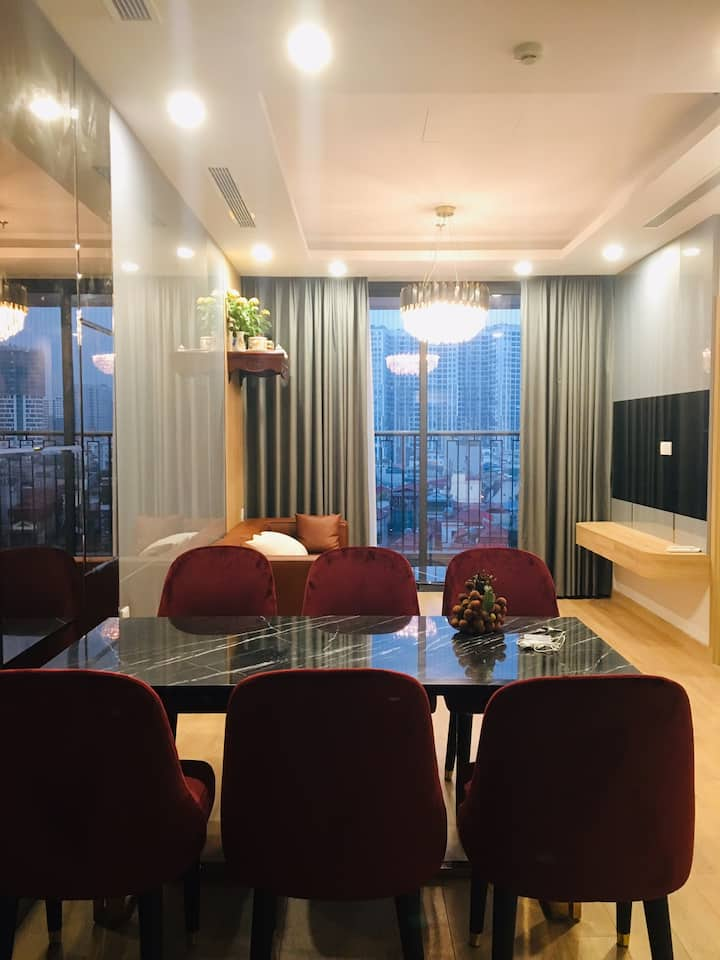 Full-Furnished apartment near Times City
