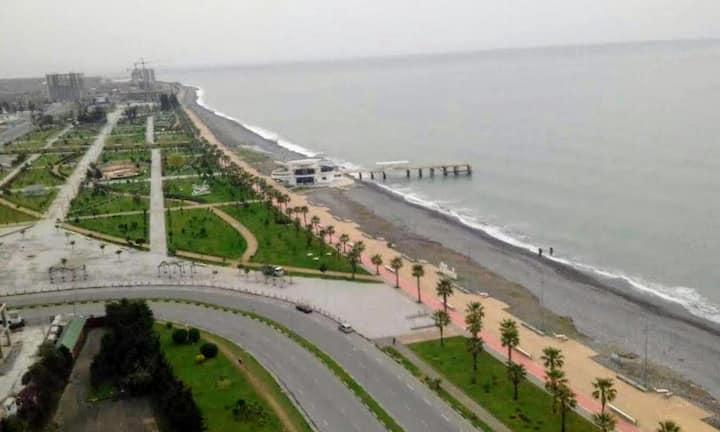 Batumi, 10 meters from sea apartment,