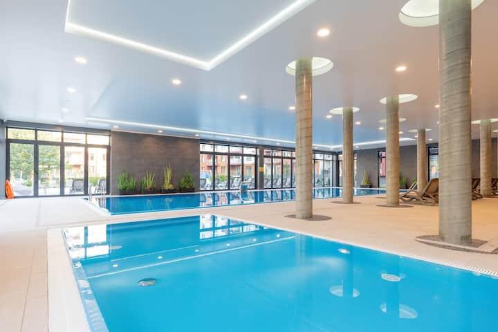 Polanki Park 102 | Pool, Spa, Gym, Restaurant